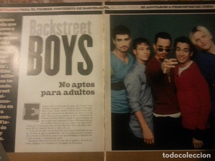 Revistas de música: Backstreet boys (Nick carter) Colección de artículos, reportajes y revista - Foto 5 - 172146552