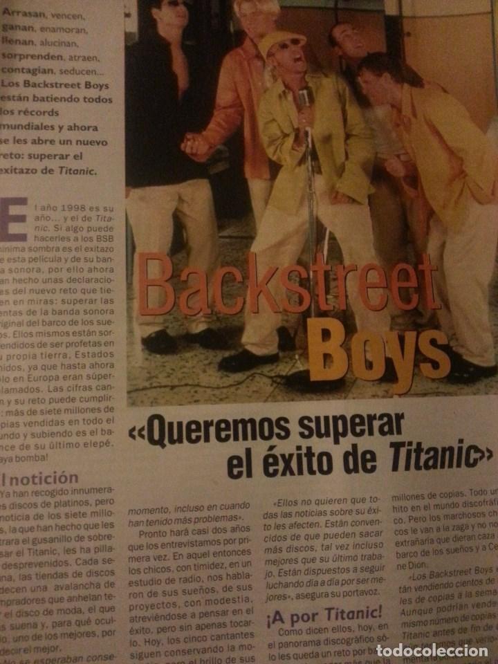 Revistas de música: Backstreet boys (Nick carter) Colección de artículos, reportajes y revista - Foto 7 - 172146552