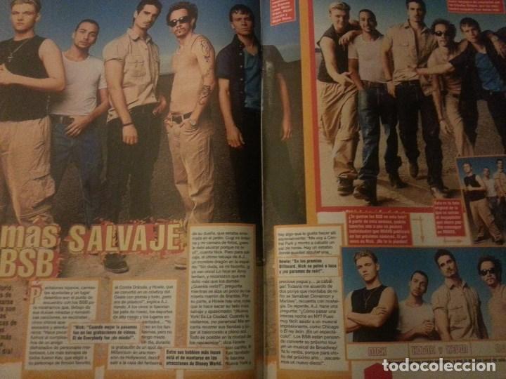 Revistas de música: Backstreet boys (Nick carter) Colección de artículos, reportajes y revista - Foto 11 - 172146552