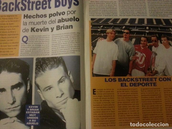 Revistas de música: Backstreet boys (Nick carter) Colección de artículos, reportajes y revista - Foto 16 - 172146552