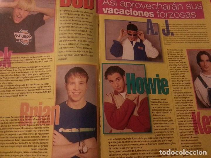 Revistas de música: Backstreet boys (Nick carter) Colección de artículos, reportajes y revista - Foto 19 - 172146552