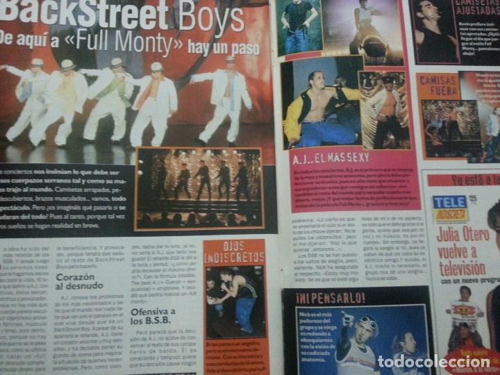 Revistas de música: Backstreet boys (Nick carter) Colección de artículos, reportajes y revista - Foto 24 - 172146552