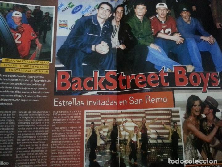 Revistas de música: Backstreet boys (Nick carter) Colección de artículos, reportajes y revista - Foto 25 - 172146552