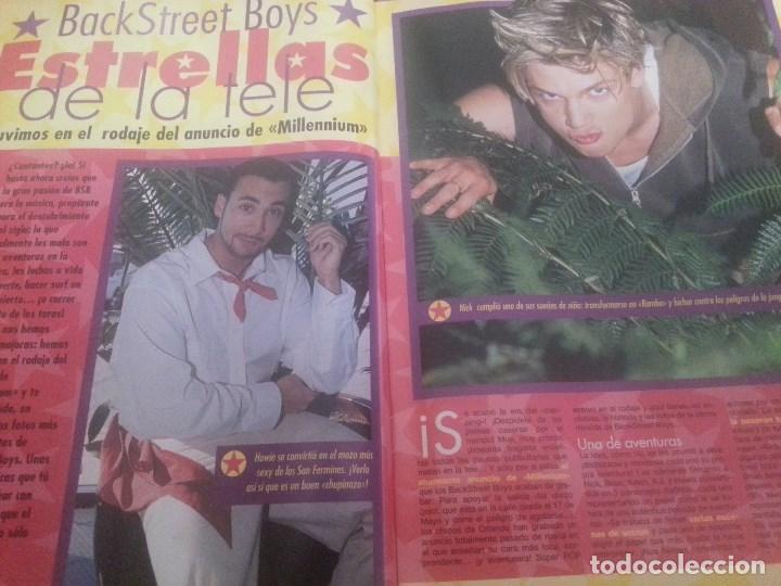 Revistas de música: Backstreet boys (Nick carter) Colección de artículos, reportajes y revista - Foto 31 - 172146552