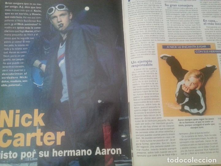 Revistas de música: Backstreet boys (Nick carter) Colección de artículos, reportajes y revista - Foto 34 - 172146552