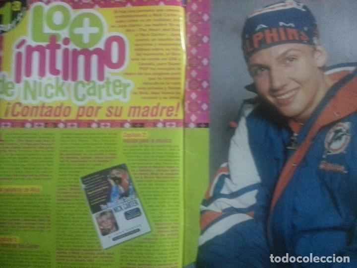 Revistas de música: Backstreet boys (Nick carter) Colección de artículos, reportajes y revista - Foto 35 - 172146552