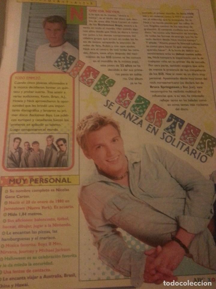 Revistas de música: Backstreet boys (Nick carter) Colección de artículos, reportajes y revista - Foto 40 - 172146552