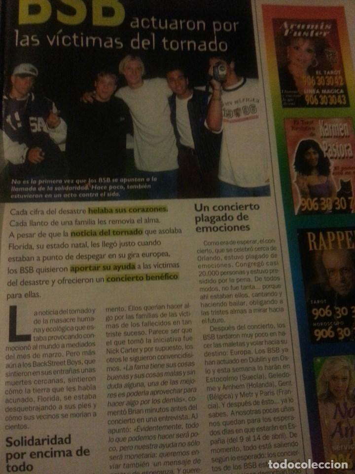 Revistas de música: Backstreet boys (Nick carter) Colección de artículos, reportajes y revista - Foto 44 - 172146552