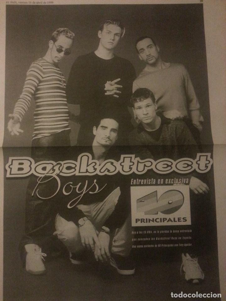 Revistas de música: Backstreet boys (Nick carter) Colección de artículos, reportajes y revista - Foto 47 - 172146552