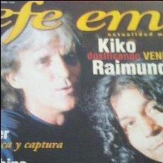 Revistas de música: REVISTA EFEEME Nº1 NOV 1998. Lote 107578003