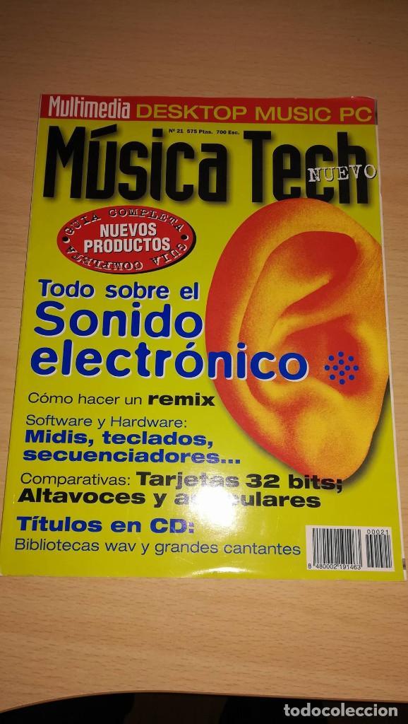 Revista Musica Tech nº 21 - Todo Sobre el Sonido Electrónico segunda mano