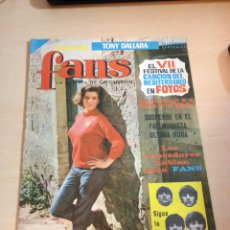 Revistas de música: THE BEATLES - REVISTA FANS NUM. 19. Lote 108837298