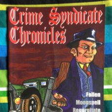 Revistas de música: REVISTA CRIME SYNDICATE CHRONICLES Nº 0 - 2004. Lote 109116615