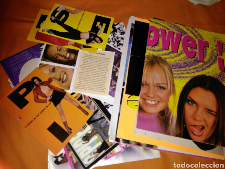 Revistas de música: CARPETA DE SPICE GIRLS LLENA DE REVISTAS PEGATINAS POSTERS... - Foto 4 - 109128306