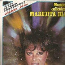Revistas de música: MEMORIAS CALIENTES DE MARUJITA DIAZ - 10 FASCICULOS DE LAS MEMORIAS PUBLICADAS POR LA REVISTA SEMANA. Lote 109318691