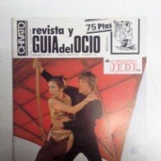 Revistas de música: CHIVATO Nº 47 (1983). REVISTA DEL OCIO DE BILBAO. ITOIZ, LOS SANTOS, PUNKIES, MUSKARIA,.... Lote 117937675