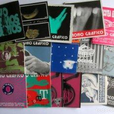 Revistas de música: MONO GRÁFICO FANZINE REVISTA CULTURAL COLECCIONABLE LOTE DE 16 EJEMPLARES ORIGINALES VER FOTOS.. Lote 109870947
