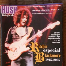Revistas de música: HUSH MAGAZINE Nº 26. RITCHIE BLACKMORE, DEEP PURPLE. Lote 110001567
