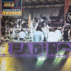 Revistas de música: READING 1975 CONCIERTO. ESPECIAL POPULAR 1. SIN POSTER. Lote 110049799