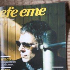 Revistas de música: EFE EME Nº 88. ARIEL ROT, WILCO, FANIA ALL STARS, PATTI SMITH, ROY ORBISON, BRYAN FERRY, TULSA, SHUA. Lote 110060803