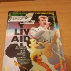 Revistas de música: REVISTA POPULAR 1 NUMERO 146 AGOSTO 85 1985 - ROCK N ROLL MAGAZINE U2 QUEEN DAVID BOWIE THE WHO. Lote 110064535