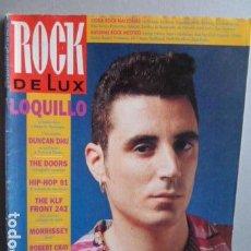 Revistas de música: LOQUILLO PORTADA DE ROCK DE LUX . Lote 110067191