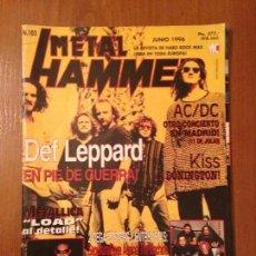 Revistas de música: METAL HAMMER #103. Lote 110067467