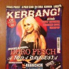 Revistas de música: KERRANG #130. Lote 110068031