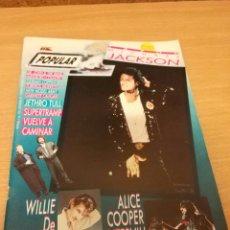 Revistas de música: REVISTA POPULAR 1 NUMERO 174 DICIEMBRE 87 1987 - MICHAEL JACKSON GABINETE CALIGARI ALICE COOPER. Lote 110068551