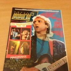 Revistas de música: REVISTA POPULAR 1 NUMERO 115 ENERO 83 1983 MOTORHEAD BARON ROJO MAZO TYGERS OF PAN TANG IRON MAIDEN. Lote 110069611