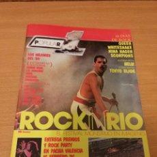 Revistas de música: REVISTA POPULAR 1 NUMERO 140 FEBRERO 85 1985 - QUEEN SANTA RAMONCIN SAMURAI HERTZAINAK HELIX DIO. Lote 110070323