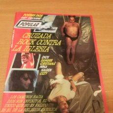 Revistas de música: REVISTA POPULAR 1 NUMERO 147 SEPTIEMBRE 85 1985 CRUZADA ROCK CONTRA LA IGLESIA NINA HAGEN OZZY QUEEN. Lote 110071071