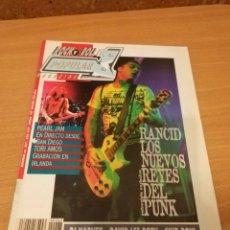 Revistas de música: REVISTA POPULAR 1 NUMERO 267 ENERO 96 1996 - PERL JAM RANCID SKID ROW - ROCK N ROLL MAGAZINE. Lote 110071395