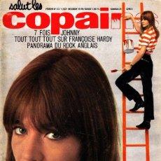 Revistas de música: SALUT LES COPAINS 31 (1965) 7 FOIS JOHNNY ,TOUT SUR FRANÇOISE HARDY,ROCK ANGLAIS*DETALLE. Lote 110386711