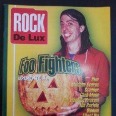 Revistas de música: REVISTA ROCK DE LUX NÚMERO 125. FOO FIGHTERS, BLUR.. Lote 110591431