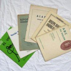 Revistas de música: 6 MÉTODOS DE VIOLÍN, SUZUKI, SPOHR, ALARD, JOACHIM & MOSER, ABC DU VIOLON. Lote 110724107