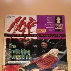 Revistas de música: REVISTA MUSICAL INGLESA NOISE OF THE NINETIES Nº 2 (1993) SMASHING PUMPKINS IGGY POP ETC. Lote 110770539