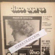 Revistas de música - DISCO EXPRES 152 (17-12-71):ALICE STUART, ABEL,MOCEDADES,WHO, SIMON & GARFUNKEL,MOCEDADES,CANARIOS, - 110975971