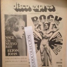 Revistas de música: DISCO EXPRES 122 (14-05-71):ELTON JOHN,JOAQUIN DIAZ,STONES,T.REX,LOS MITOS, LLACH,LLORENÇ TORRES. Lote 111338619