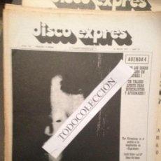 Revistas de música: DISCO EXPRES 123 (21-05-71):TUCKY BUZZARD,ASTRUD GILBERTO, LONE STAR, TOTI SOLER, MUSICA DISPERSA . Lote 111338867