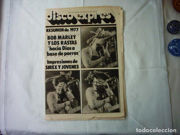 DISCO EXPRES. Nº 459. 1978 (Música - Revistas, Manuales y Cursos)