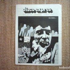 Revistas de música: DISCO EXPRES. Nº 347. 1975. Lote 111495623