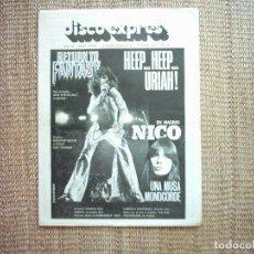 Revistas de música: DISCO EXPRES. Nº 348. 1975. Lote 111495703