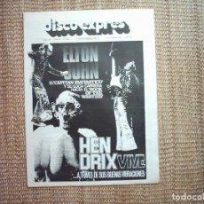 Revistas de música: DISCO EXPRES. Nº 355. 1975. Lote 111496203
