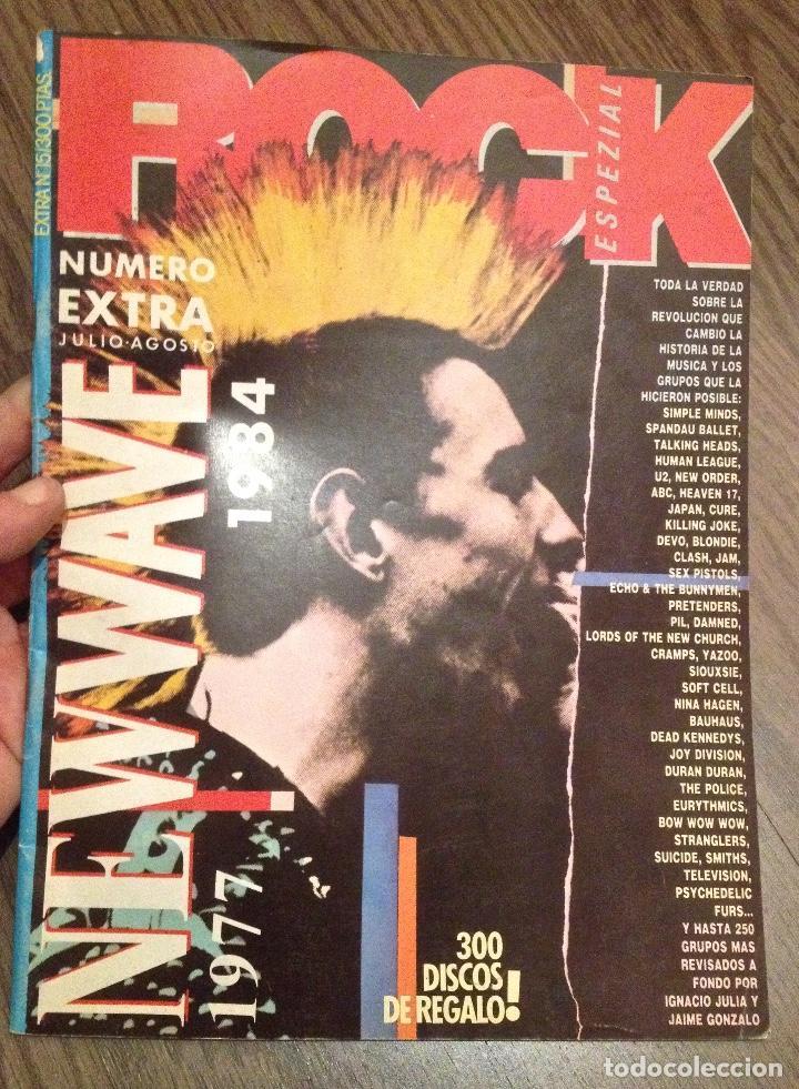 ROCK ESPEZIAL. ESPECIAL PUNK-ROCK/NEW WAVE (1984) (Música - Revistas, Manuales y Cursos)