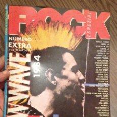 Revistas de música: ROCK ESPEZIAL. ESPECIAL PUNK-ROCK/NEW WAVE (1984). Lote 111718939