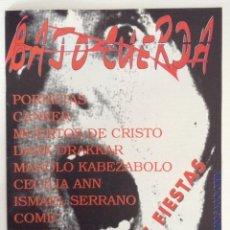 Revistas de música: BAJO CUERDA 16 CANKER PORRETAS MUERTOS DE CRISTO MANOLO KABEZABOLO. Lote 111732683