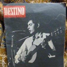 Revistas de música: JOAN MANUEL SERRAT -PORTADA DE DESTINA .1967-N.1571 -. Lote 111828391