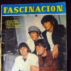 Revistas de música: LOS BEATLES: REVISTA FASCINACION-JULIO 1965-MADRID PLAZA LAS VENTAS-MUY COMUN DE VER....... Lote 111846195