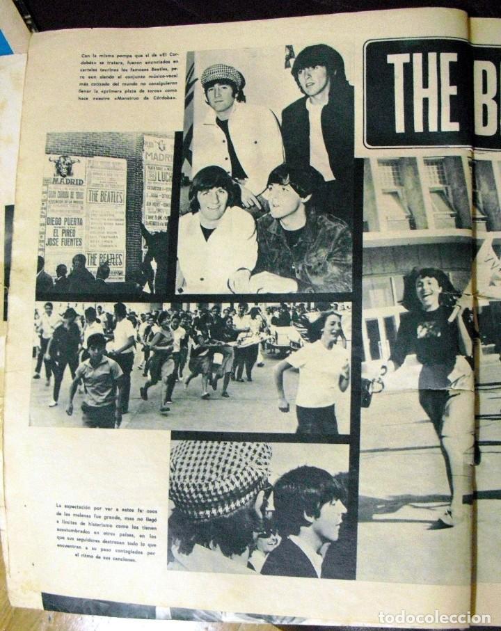 Revistas de música: LOS BEATLES: REVISTA FASCINACION-JULIO 1965-MADRID PLAZA LAS VENTAS-MUY RARA DE VER...... - Foto 3 - 111846195